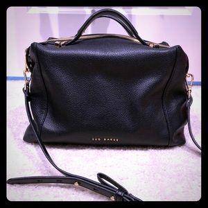 Ted Baker black satchel/with strap